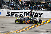Monster Energy NASCAR Cup Series<br /> Tales of the Turtles 400<br /> Chicagoland Speedway, Joliet, IL USA<br /> Sunday 17 September 2017<br /> Martin Truex Jr, Furniture Row Racing, Furniture Row/Denver Mattress Toyota Camry celebrates<br /> World Copyright: Barry Cantrell<br /> LAT Images