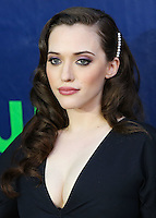 WEST HOLLYWOOD, CA, USA - JULY 17: Actress Kat Dennings arrives at the CBS, CW And Showtime 2014 TCA Summer Stars Party held at the Pacific Design Center on July 17, 2014 in West Hollywood, California, United States. (Photo by Xavier Collin/Celebrity Monitor)