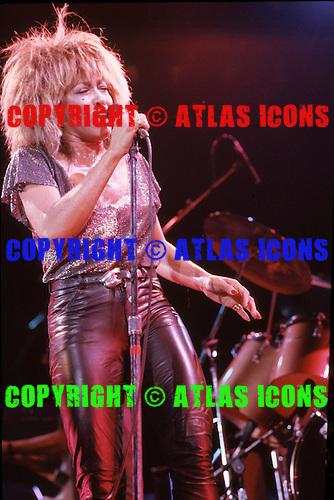 TINA TURNER, LIVE, 1984, NEIL ZLOZOWER