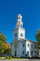Old First Church (1805), Bennington, Vermont, USA.