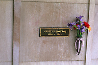 Marilyn Monroe Grave in Westwood Memorial Park Los Angeles California USA  Norma Jean Bake