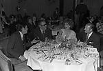 MARCELLO MASTROIANNI, SERGIO CORBUCCI E  GINA LOLLOBRIGIDA- FESTA A VILLA TAVERNA  ROMA 1973
