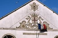 """Europe/France/Pays de la Loire/44/Loire Atlantique/Le Croisic: Ancienne halle à marée - Détail   //  France,Loire Atlantique, Le Croisic, old covered market """"Ancienne Halle a Maree"""" (1878), detail"""