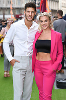 """Jack Fowler and Laura Crane<br /> The premiere of """"The Festival"""" at Cineworld Leicester Square<br /> <br /> ©Ash Knotek  D3419  13/08/2018"""