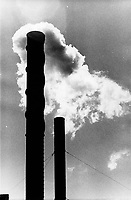 Smokestack pollution in 1974