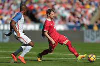 San Diego, CA - Sunday January 29, 2017: Aleksandar Palocevic during an international friendly between the men's national teams of the United States (USA) and Serbia (SRB) at Qualcomm Stadium.