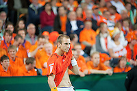 07-05-10, Tennis, Zoetermeer, Daviscup Nederland-Italie, Thiemo se Bakker  Simone Bolelli