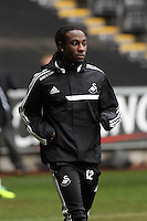 Wednesday 05 February 2014<br /> Pictured: Marvin Emnes<br /> Re: Swansea City FC training with Garry Monk as head coach after the departure of Michael Laudrup, at the Li Liberty Stadium, south Wales.