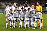 Armenia's starting eleven lines up <br /> Catania 19-11-2019 Stadio Angelo Massimino <br /> UEFA Under 21 European Championship 2021 qualifier group 1 <br /> Italy - Armenia<br /> Photo Carmelo Imbesi / Insidefoto