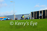 Spectators watch on during the Allianz Football League Division 1 Round 7 match between Kerry and Donegal at Austin Stack Park in Tralee on Saturday.