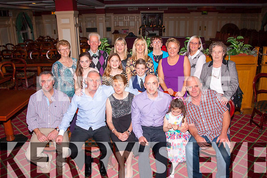 70,lookin 60<br /> --------------<br /> Christine Brown,Brosna (seated centre) got a fab surprise from her family last Saturday night on her 70th birthday when she went to the Riverisland hotel,Castleisland for what she thought was a quiet drink.