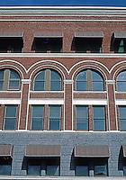 San Diego: Keating Building. Facade Detail. Photo '81.