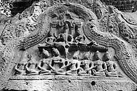 Ta  Prohm temple  ruins in siem reap, Cambodia, 2016<br /> <br /> Photo : Pierre Roussel - AQP