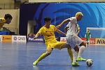 Shenzhen Nanling vs Nagoya Oceans during the 2014 AFC Futsal Club Championship Group Stage A match on August 27, 2014 at the Shuangliu Sports Centre in Chengdu, China. Photo by World Sport Group