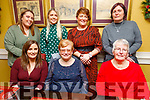 Enjoying Little Women's Christmas in the Brogue Inn on Saturday.<br /> Seated l to r: Theresa Hussey, Maureen O'Keeffe and Eileen Hussey.<br /> Back l to r: Kathleen O'Keeffe, Liz Hussey, Elaine O'Keeffe Halpin and Marie Slattery.