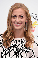 Petra Kvitova<br /> arriving for the Tennis on the Thames WTA event in Bernie Spain Gardens, South Bank, London<br /> <br /> ©Ash Knotek  D3412  28/06/2018