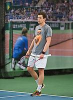 Rotterdam, Netherlands, Januari 24, 2016,  ABNAMROWTT Supermatch, Philippe Brand (NED)<br /> Photo: Tennisimages/Henk Koster
