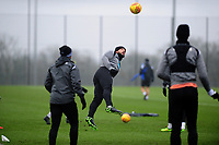 Cameron Carter-Vickers of Swansea City in action during the Swansea City Training at The Fairwood Training Ground in Swansea, Wales, UK. Tuesday 05 February 2019