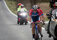 Niki Terpstra (NED/Total - Direct Energie) in the breakaway group<br /> <br /> Stage 3 from Monticiano to Gualdo Tadino (219km)<br /> <br /> 56th Tirreno-Adriatico 2021 (2.UWT) <br /> <br /> ©kramon