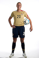 U.S. Women's National Team portrait photoshoot. June 8, 2007 in Carson, CA.