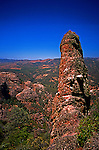 Rock spire at Pinnacles National Monument in California looks like it's unofficial name.