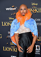 "LOS ANGELES, USA. July 10, 2019: Kalen Allen at the world premiere of Disney's ""The Lion King"" at the Dolby Theatre.<br /> Picture: Paul Smith/Featureflash"