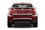 Straight rear view of a 2013 BMW X6 X Drive 35i