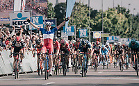 Arnaud Démare (FRA/FDJ) wins the 97th Brussels Cycling Classic (1.HC)<br /> <br /> 1 Day Race: Brussels > Brussels (201km)