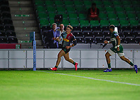 9th September 2020; Twickenham Stoop, London, England; Gallagher Premiership Rugby, London Irish versus Harlequins; Cadan Murley of Harlequins with the final try of the match to beat London Irish 15-38