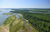 Wild section of Missouri River