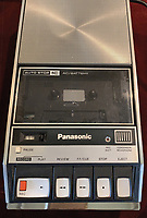 BNPS.co.uk (01202 558833)<br /> Pic: RRAuction/BNPS<br /> <br /> Pictured: The tape recorder.<br /> <br /> A fully-working Apple-1 computer has sold for £273,000.<br /> <br /> The pioneering machine is one of the 200 'motherboards' Apple founder Steve Jobs and his associate Steve Wozniak designed in 1976.<br />  <br /> Around 70 Apple-1 computers are known to exist today and of those less than 10 still work.