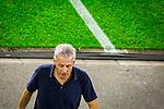 14.09.2020, Schauinsland-Reisen-Arena, Duisburg, GER, DFB Pokal 1. Runde, MSV Duisburg vs Borussia Dortmund, im Bild Lucien Favre (Trainer BVB), <br /> <br /> <br /> Foto © nordphoto / Rauch<br /> <br /> Gemäß den Vorgaben der DFL Deutsche Fußball Liga bzw. des DFB Deutscher Fußball-Bund ist es untersagt, in dem Stadion und/oder vom Spiel angefertigte Fotoaufnahmen in Form von Sequenzbildern und/oder videoähnlichen Fotostrecken zu verwerten bzw. verwerten zu lassen.