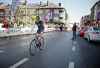 Frank Schleck (LUX/Trek Factory Racing) before the start<br /> <br /> La Flèche Wallonne 2014