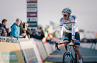 Another victory for European Champion Mathieu van der Poel (NED/Corendon-Circus) after leading the race from start to finish <br /> <br /> Superprestige Ruddervoorde 2018 (BEL)