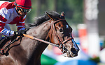 """September 26, 2015: Songbird with Mike Smith up win the Breeders' Cup """"Win and You're In"""" Awesome Again Stakes at Santa Anita Park in Arcadia, California. Zoe Metz/ESW/CSM"""
