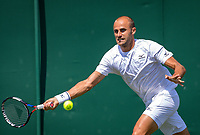 London, England, 3 th. July, 2018, Tennis,  Wimbledon, Marius Copil (ROU)<br /> Photo: Henk Koster/tennisimages.com