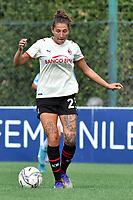 11th September 2021;  Mirko Fersini Stadium, Rome, Italy ; Serie A Womens championship football, Lazio versus Milan ; Miriam Longo of Milan
