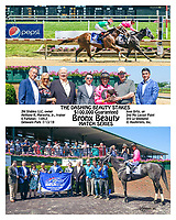 Bronx Beauty winning The Dashing Beauty Stakes at Delaware Park on 7/13/19