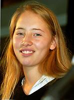 Isilde LeBesco<br />  au Festival des Films du Monde 1999<br /> (date exacte inconnue)<br /> <br /> PHOTO :  Agence Quebec Presse