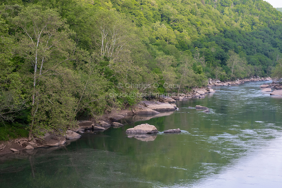 New River Gorge National Park, West Virginia.  New River.