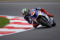 Peter Hickman (60) of Smiths Racing BMW during practice in the MCE BRITISH SUPERBIKE Championships 2017 at Brands Hatch, Longfield, England on 13 October 2017. Photo by Alan  Stanford / PRiME Media Images.