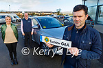 Lixnaw GAA launch their fundraiser at Adams of Tralee on Tuesday. Front right: Michael Kelliher (Chairman Lixnaw GAA). Back l to r: Noel O'Connor (Adams of Tralee) and Karen Corridan (Lixnaw GAA) and Noel O'Connor (Adams of Tralee).