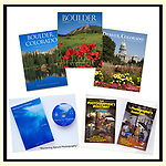 Six photography books by John Kieffer. All with established publishers.