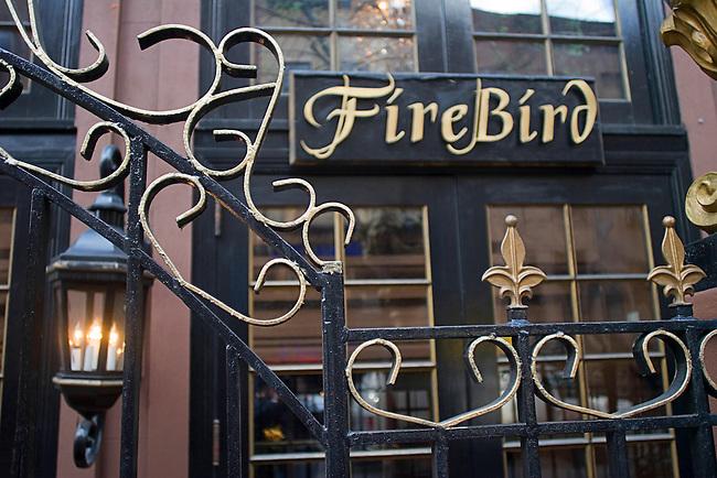 Firebird, Russian Restaurant, Exterior, New York, New York