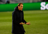 April 27th 2021; Alfredo Di Stefano Stadium, Madrid, Spain; UEFA Champions League.  Chelsea's Thomas Tuchel  during the Champions League match, semifinals between Real Madrid and Chelsea FC played at Alfredo Di Stefano Stadium