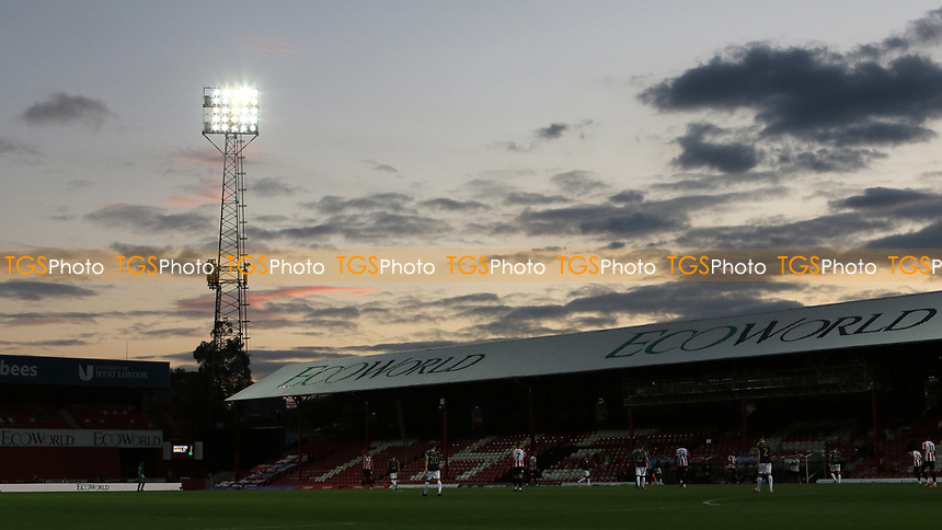 General view of Griffin Park during Brentford vs Barnsley, Sky Bet EFL Championship Football at Griffin Park on 22nd July 2020