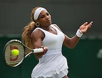 England, London, 26.06.2014. Tennis, Wimbledon, AELTC, Serena Williams (USA)<br /> Photo: Tennisimages/Henk Koster