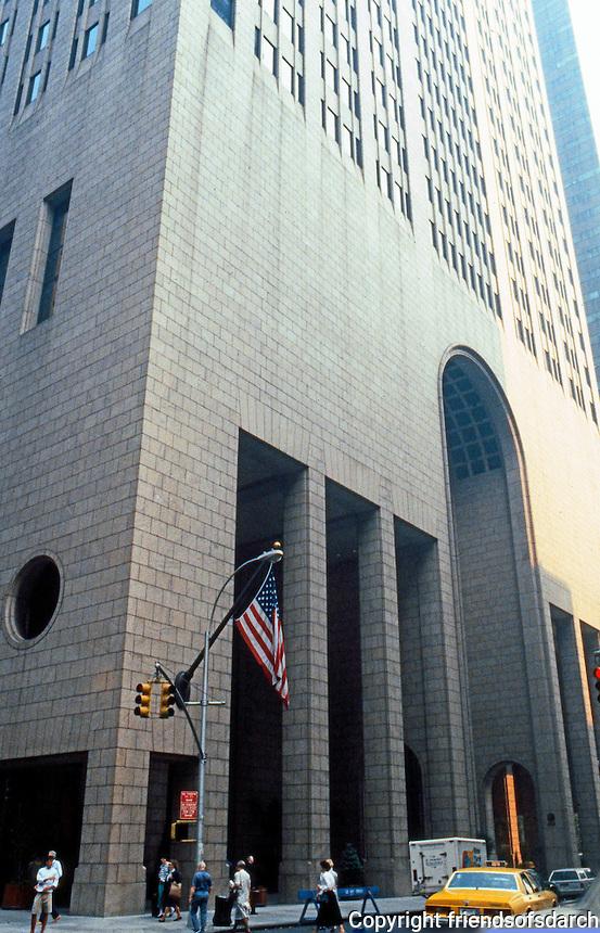 Philip Johnson: AT&T Building, Madison Ave.  Photo '88.