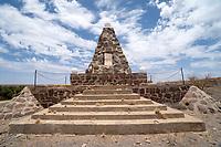 Denkmal um die Schlacht bei Kub vom November 1904, Hendrik Wittbooi greift die Deutsche Schutztruppe an