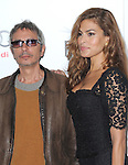 Eva Mendes and Leos Carax at The AFI FEST 2012Holy Motors Special Screening held at The Grauman's Chinese Theatre in Hollywood, California on November 03,2012                                                                               © 2012 Hollywood Press Agency